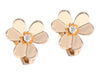 Van Cleef & Arpels Small Frivole Diamond Earclips