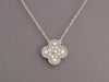 Van Cleef & Arpels Diamond Vintage Alhambra Necklace
