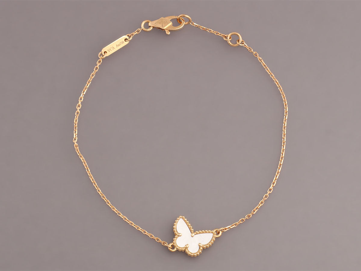 pearl van of sweet products vc pendant bracelet mother cleef butterfly arpels alhambra