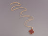 Van Cleef & Arpels Long Carnelian Magic Alhambra Necklace