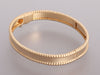 Van Cleef & Arpels Small 18K Yellow Gold Perlée Signature Bracelet