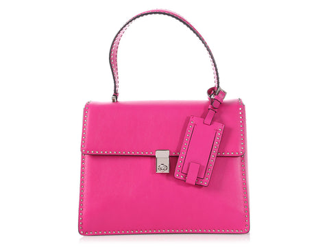 Valentino Pink Rockstud Single Handle Bag