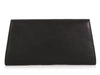 Valextra Large Black La Scala Clutch