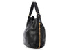 YSL Black Zip Hobo