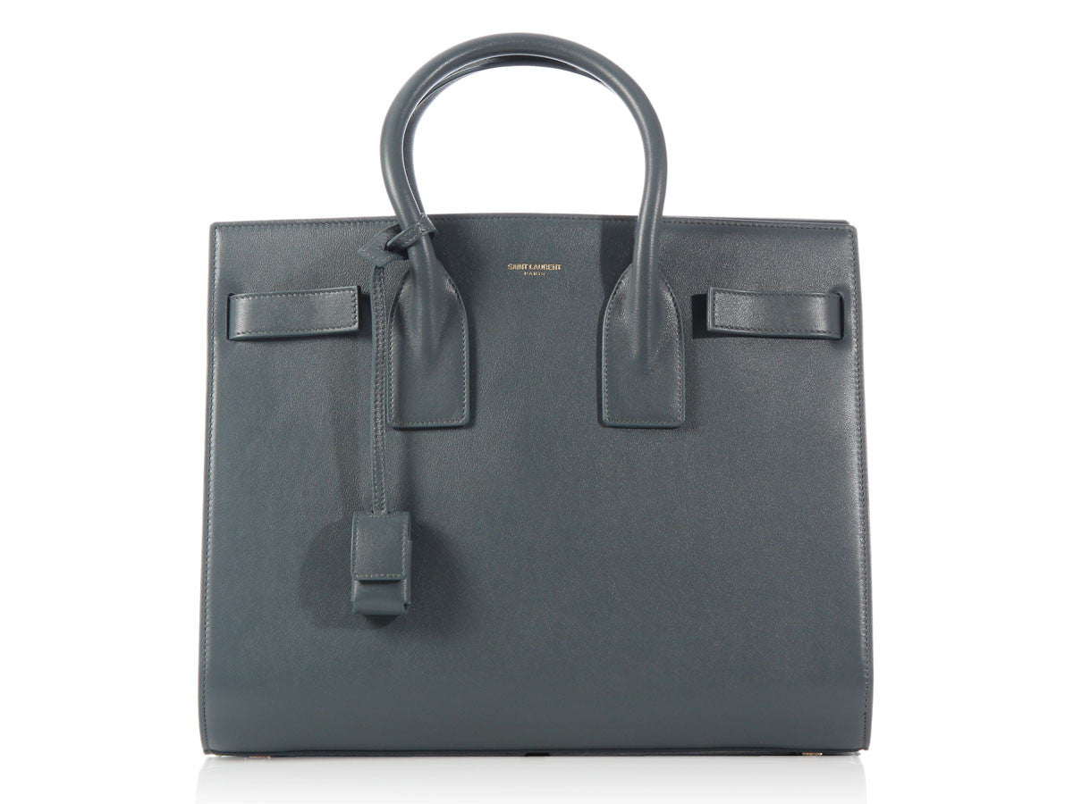 Saint Laurent Small Petrol Sac de Jour