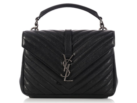 Saint Laurent Medium Black College Bag