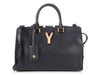 Saint Laurent Small Navy Cabas Y Bag