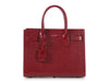 Saint Laurent Red Crocodile-Embossed Baby Sac de Jour
