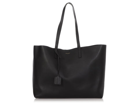 Saint Laurent Black East West Shopping Tote