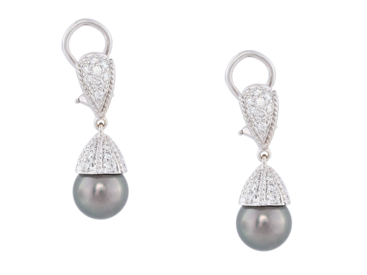 Penny Preville Black Pearl Earrings