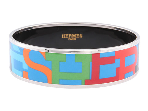 Hermès Wide Capitales Bangle