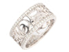 Chanel Diamond Camellia Band