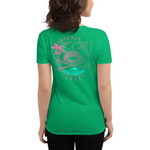 Load image into Gallery viewer, The Neon Shark Women's short sleeve t-shirt