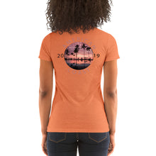 Load image into Gallery viewer, Ladies' Sun Set Premium short sleeve t-shirt