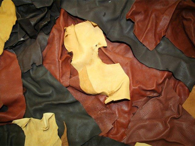 Leather Scraps - Matuska Taxidermy