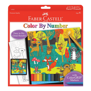 Color by Numbers - Forest Friends