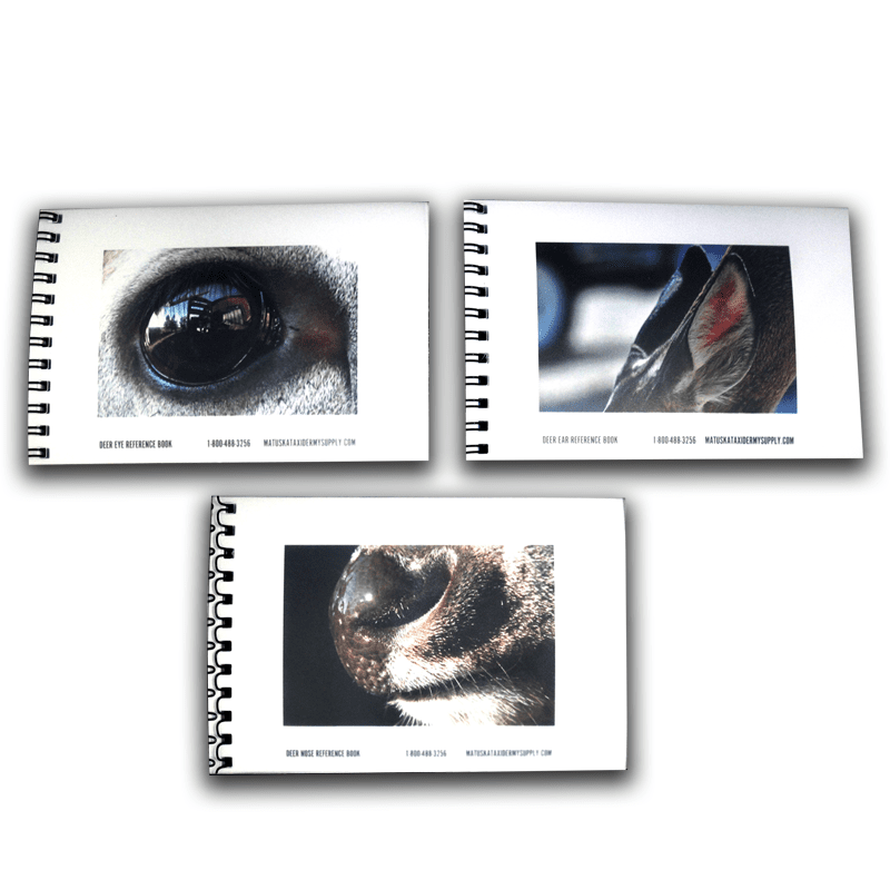 Whitetail Deer Reference Books (4 x 6) - Matuska Taxidermy