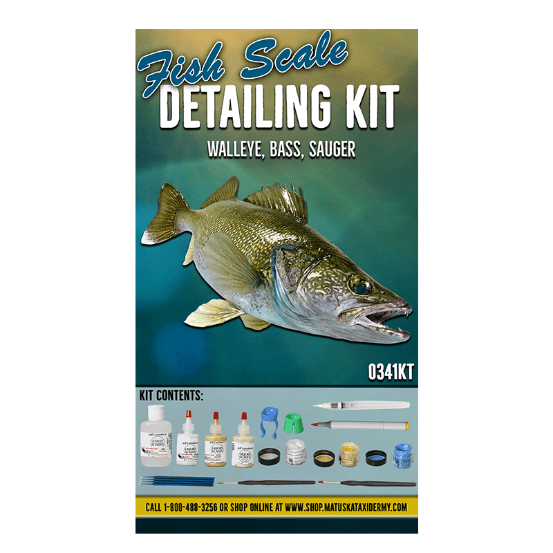 Fish Scale Detailing Kit - 26 pc. - Matuska Taxidermy