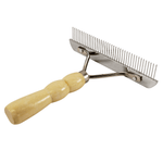 Grooming Comb with Handle (Course)