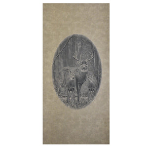 "Engrained Leather Backing 24"" x 12"" - Matuska Taxidermy"