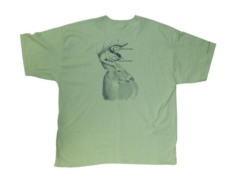 Competitor's Choice Mint Green T-Shirt - Matuska Taxidermy