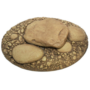 Large Oval Rock Base - Matuska Taxidermy