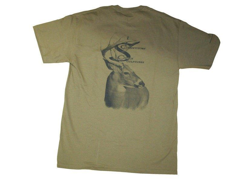 Competitors' Choice Dark Green T-Shirt - Matuska Taxidermy