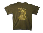 Wildlife Illusions Dark Green T-Shirt