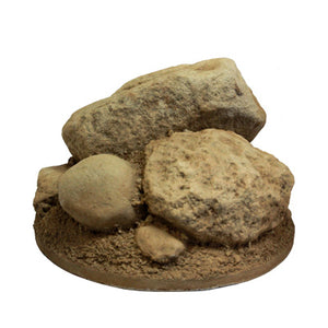 Rock Base - Large Round - Matuska Taxidermy