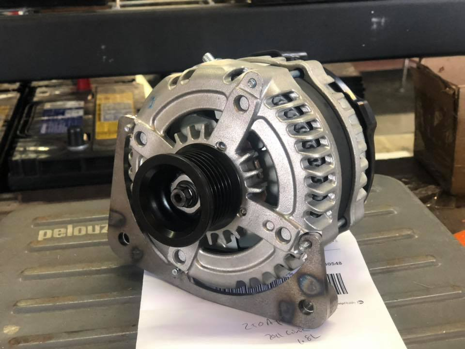 12-15 1.8L Honda Civic Alternator 06-11 180-320a 14.8V Bypassed Only