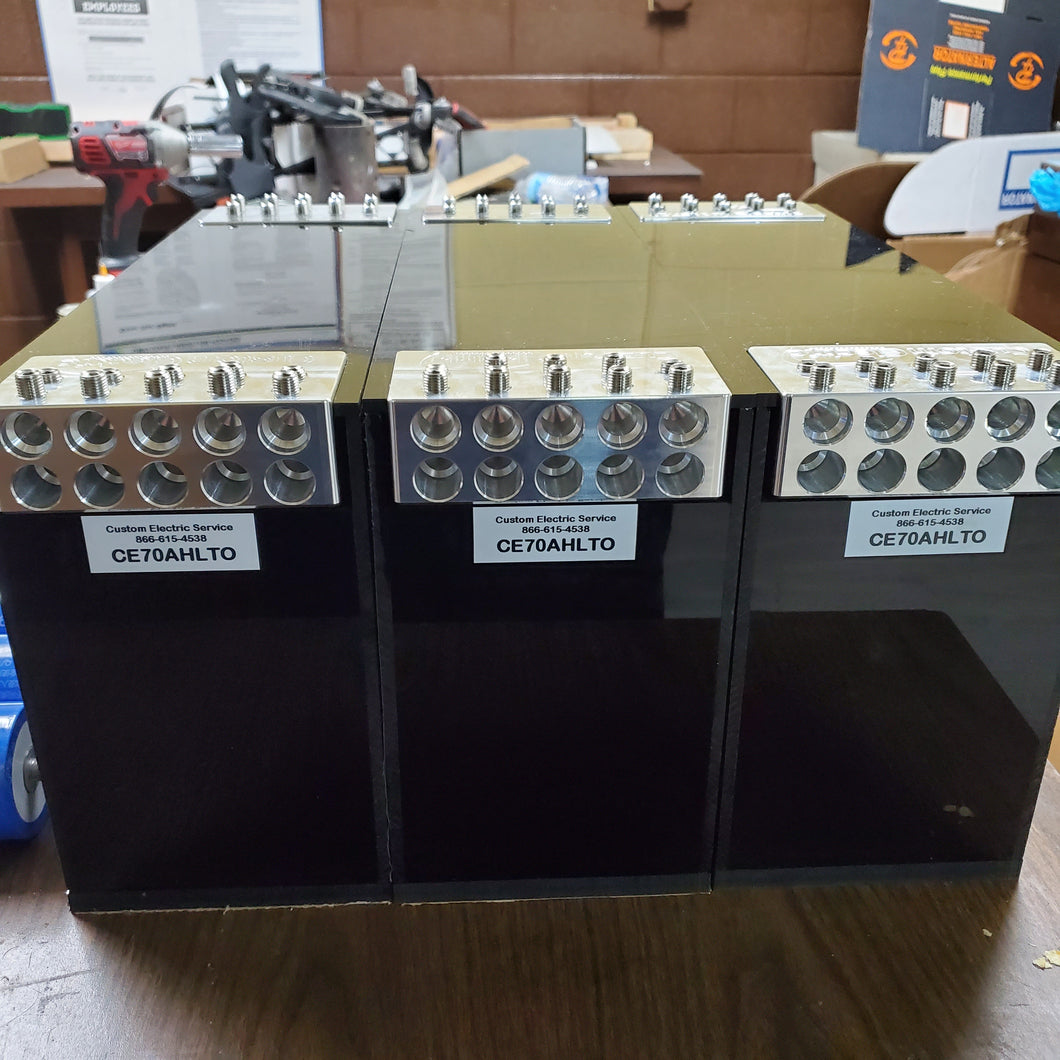 70AH LTO Battery Cased Lithium 10 Spot Terminals Actively Balanced