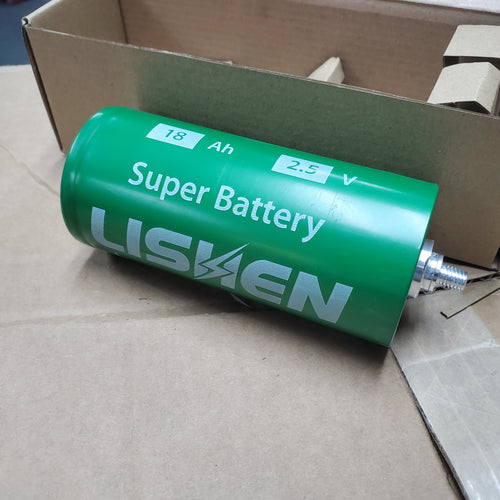 Lishen LTO 18ah 2.5v Lithium Bank (6 Cells)