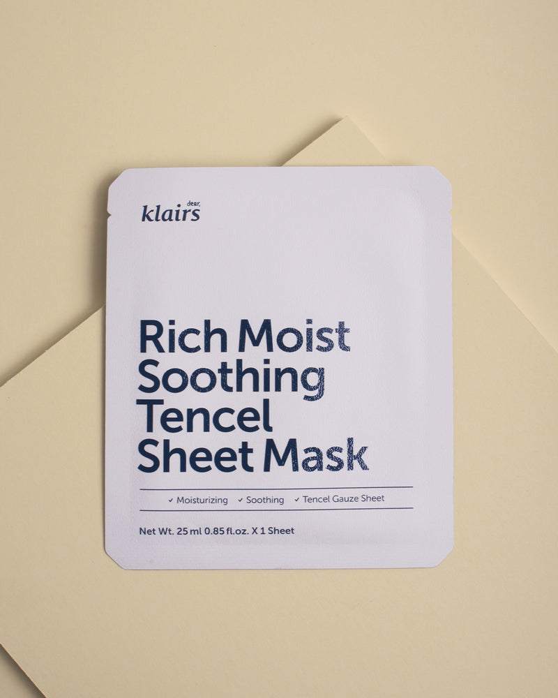 Klairs Rich Moist Soothing Tencel Sheet Mask - kopen in Nederland bij Keauty.nl