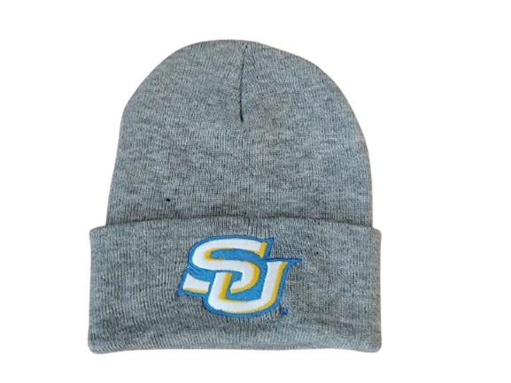 SU Logo Cuffed Knit Hat