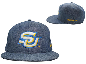 SU Ice Blue Snapback Hat