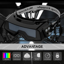 Load image into Gallery viewer, Welding Goggles, Auto Darkening Welding Glasses MMA Plasma Weld Mask - Bragartele.com