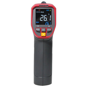 UT301A+ Infrared Thermometer; high-definition color screen electronic thermometer /-32~ 420C, adjustable emissivity - Bragartele.com