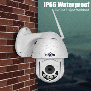 Wirless PTZ Speed Dome IP Camera Wifi Outdoor 1080Ptwo Way Audio CCTV Security Video Network Surveillance Camera P2P - Bragartele.com