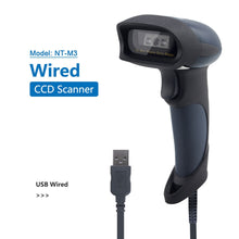 Load image into Gallery viewer, Wired CCD Barcode Scanner AND Handheld M2 Wireless Bar Code Reader 32Bit High Speed POS Bar Code Scan for inventory - Bragartele.com
