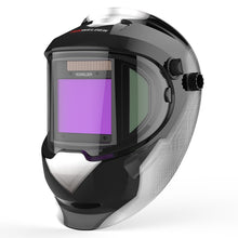 Load image into Gallery viewer, Panoramic 180 Large Viewing Welding Helmet Solar Powered Auto Dark - Bragartele.com