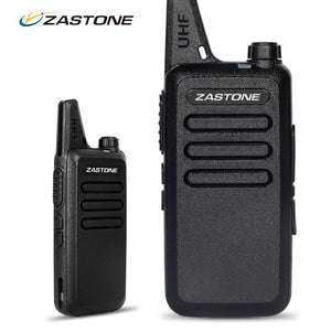 Mini Walkie Talkie HF Transceiver 2Pcs Radio Portatil UHF 400-470 MHz Portable handheld CB Radio Transceiver - Bragartele.com