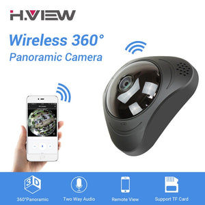 CCTV Fisheye Video Surveillance Camera 720P IP Camera 360°  Wifi 960P 1200TVL Cameras - Bragartele.com