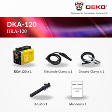 Load image into Gallery viewer, Electric Welding Machine DKA-120 MMA Welder for Welding Working
