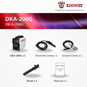 Electric Welding Machine DKA-120 MMA Welder for Welding Working