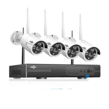 Load image into Gallery viewer, Wireless CCTV IP Security System 1080P 1TB 4pcs 2MP 8CH NVR IP IR-CUT outdoor CCTV Camera System Video Surveillance Kit - Bragartele.com