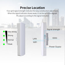 Load image into Gallery viewer, Outdoor Mini Wireless AP Bridge WIFI CPE Access Point 2pcs 5KM 900Mbps 5.8Ghz  12dBi - Bragartele.com