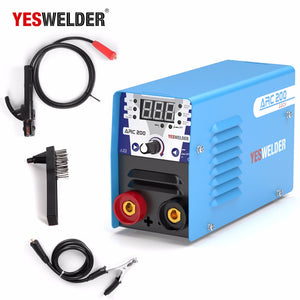 Mini ARC Welding Machine Single Phase 220V Inverter MMA Portable Welder (Blue) - Bragartele.com