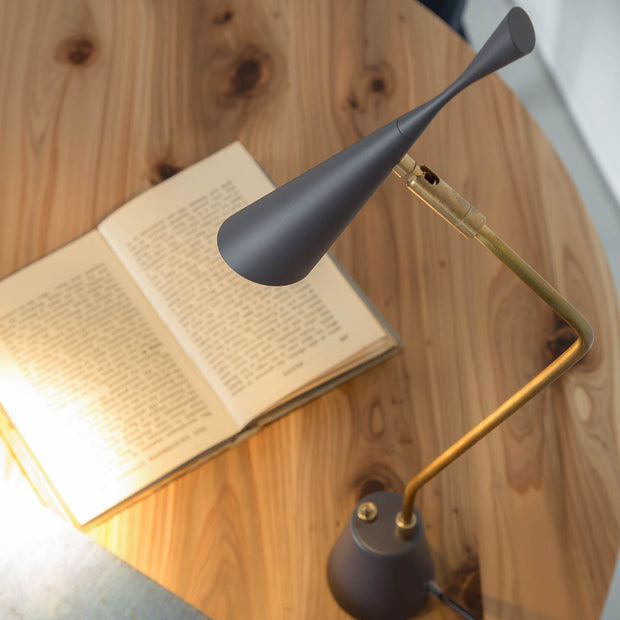 Gray × Gold Smart Desk Lamp