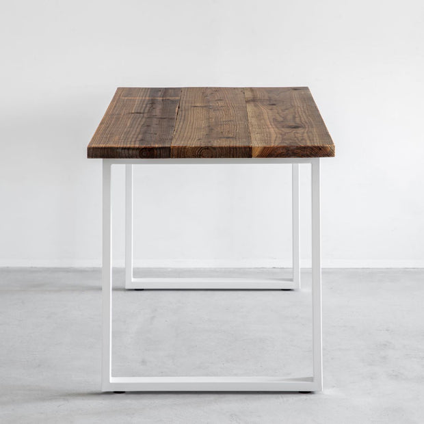 THE TABLE / 古材 × White Steel