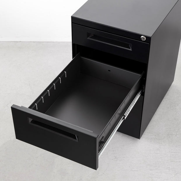 Simple Design Cabinet Wagon Black